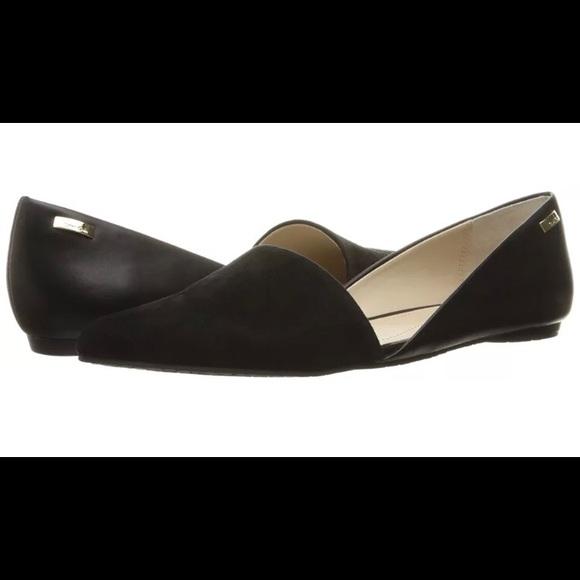6bd0e9f6981 Calvin Klein Shoes - Calvin Klein Harmonia d Orsay Black Flats